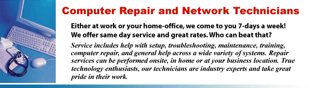 PC Repair and computer services in New York
