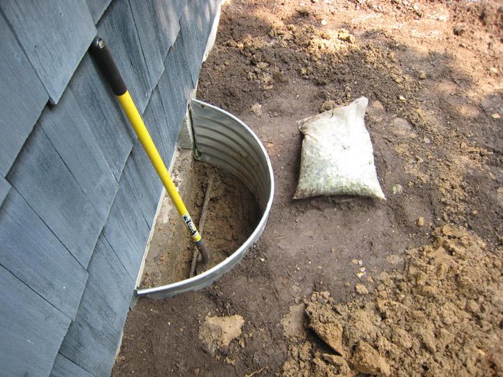 drainage excavation contractor basement leaks drainage problems