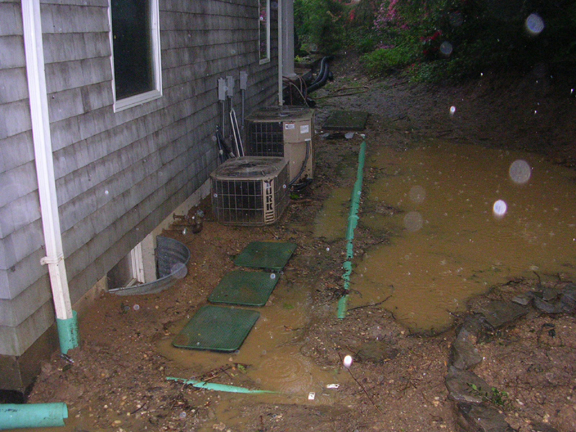 Long Island New York Drainage Problems Excavation