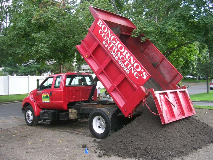 Long island home improvement licensed and insured for Topsoil delivery